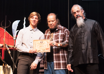Awarded for Excellence with Grandmaster Vince Lacey and Sifu  image