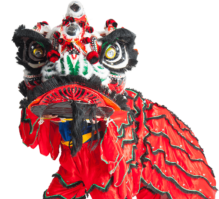 Traditional, colourful Lion Dancing one click away…