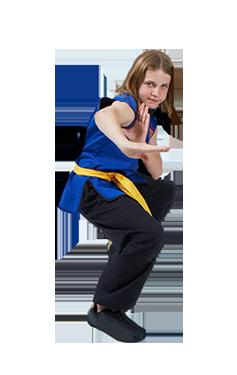 Teenager's Kung Fu